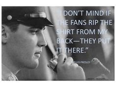 Great Elvis Presley Quotes