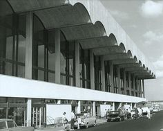 1968 Ligeti Ramifications: Glasgow Airport opened in 1966 Glasgow Scotland, Scotland Travel, Glasgow Airport, Paisley Scotland, Air Travel, Brutalist, Newcastle, Old Photos, Britain
