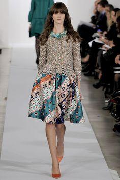 Oscar De La Renta Pre-Fall 2013 - the Fashion Spot