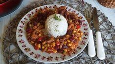 Mexikói tokány Chana Masala, Chili, Pork, Ethnic Recipes, Kale Stir Fry, Chile, Chilis, Pigs