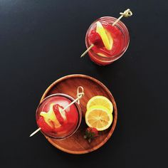 Strawberry Jam Cocktail