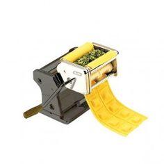 Máquina de Raviolis - Mesa Puesta - Prepara una pasta casera y unos raviolis rellenos de tu receta favorita en nada de tiempo. Fabricada en acero inoxidable. De fácil limpieza y uso