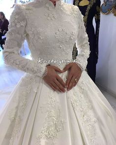 Unusual Wedding Dresses, Modest Wedding Gowns, Muslim Wedding Dresses, Muslim Brides, Wedding Hijab, Wedding Wear, Bridal Dresses, Malay Wedding Dress, Fairytale Bridal