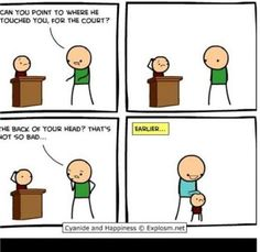 My favourite Cyanide and Happiness comic. Funny Shit, Funny Cute, The Funny, Funny Jokes, Hilarious, Funny Stuff, Funny Things, Stupid Stuff, Random Stuff