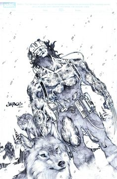 Weapon X by Jimbo Salgado
