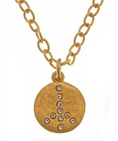 Evelyn Knight Small Peace Necklace  Price: $70.00