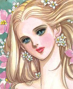 Feh Yes Vintage Manga Manga Art, Manga Anime, Anime Art, Japanese Illustration, Manga Illustration, Castlevania Anime, Lady Oscar, 70s Sci Fi Art, Beautiful Fantasy Art