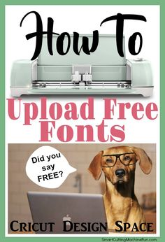 Upload Free Fonts to Cricut Design Space   How to Upload Free Fonts   Where to Find Free Fonts