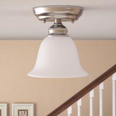 Cicco 1-Light Semi Flush Mount
