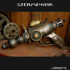 steam punk style to appeal to the young crowd