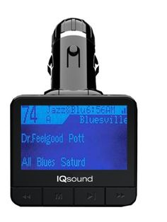 Supersonic-IQ-207-Wireless FM Transmitter With1.4 Inches Display-USB and SD Card-SD/MMC card, USB Flash-Plays MP3/WMA - https://twitter.com/cellphonetip/status/593278664831344640