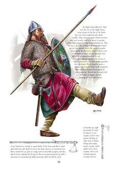 Anglo saxon huscarl - Ministry of Historical Silly Walks...
