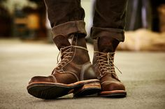 New Boot Co's: The Smuggler's Notch 8-Inch Cap Toe Boots.
