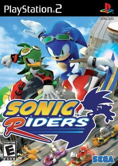 awesome Sonic Riders - PlayStation 2