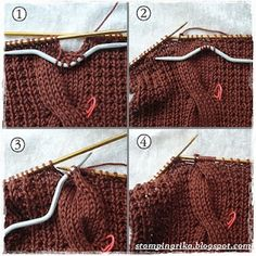 Cable stitch reminder