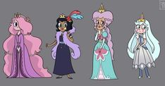 Queens of Mewni Starco, Star Butterfly Outfits, Joker Frases, Steven Universe Fan Fusions, Butterfly Family, Evil Disney, Star Vs The Forces Of Evil, Force Of Evil, Disney Fan Art