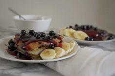 Pancakes, Breakfast, Ethnic Recipes, Kitchen, Blog, Morning Coffee, Cooking, Kitchens, Pancake