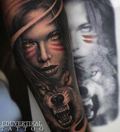 •EDU2016 - GIRL&WOLF #girl #wolf #fussion #girlandwolf #girlandwolftattoo #animal #warrior #wild #tattoo #thebestspaintattooartists #thebesttattooartists #pxabodyart #thebestbngtattooartists #balmtattoo #dragonsblood #tattoospain #alicantetattoo #edutattoo @thebestspaintattooartists @ink.ig @balm_tattoo