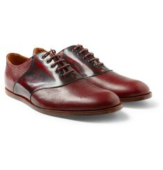 Leather Oxford Shoes by Opening Ceremony