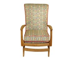 Florence - This vintage Ercol style rocking chair has been recovered with a beautiful Orla Kiely multi-flower print.