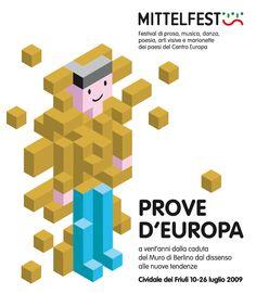 Pierpaolo Paoletti - Mittelfest graphic design - Masonry / Massoneria Creativa