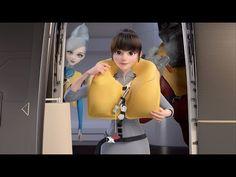 星宇航空機上安全影片 StarWonderers 星探者 | STARLUX Airlines - YouTube Commercial Ads, Short Film, 3d Animation, Taiwan, Youtube, Youtubers, Youtube Movies
