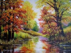 oil painting landscape - Google Search