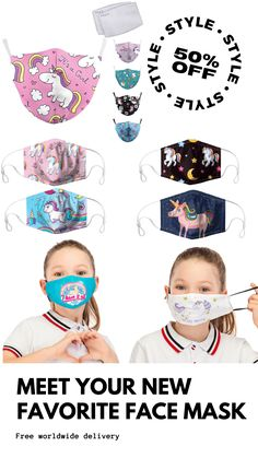 By providing these top-selling Unicorn Mask with high-quality protection which can keep you as well as your beloved ones safe and sound, we guarantee that it can be an essential thing for you to get through the danger ahead! Unicorn Mask, Unicorn Kids, Passive Smoking, Eye Protection, Mouth Mask, Unicorns, Activities, Face, Top