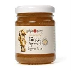 The Ginger Party  Ginger Spread  240g * Details can be found by clicking on the image.