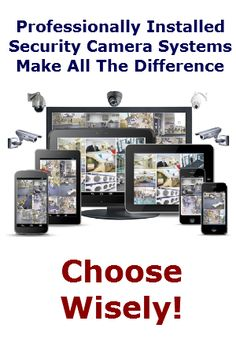 CCTV Security Camera Installation Company