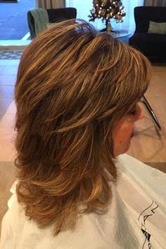 Layered Haircuts For Medium Hair, Haircuts For Fine Hair, Medium Hair Cuts, Short Hair Cuts, Medium Hair Styles, Short Hair Styles, Love Hair, Great Hair, Modern Shag Haircut