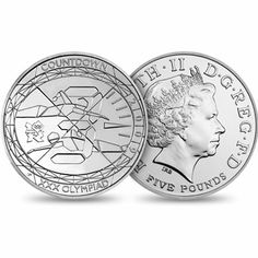 "2009 UK ""Countdown to London 2012"" 5 pound coin"