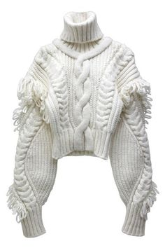 chunky cable knit - love this! Knitwear Fashion, Knit Fashion, Fashion Outfits, Womens Fashion, Fashion Fashion, Chunky Knitwear, Vintage Mode, Fashion Details, Fashion Design