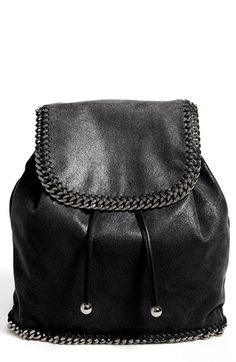 Stella McCartney 'Falabella - Shaggy Deer' Faux Leather Backpack available at #Nordstrom