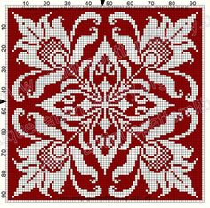 ru / Фото - Le Filet Ancien V - gabbach Cross Stitch Borders, Cross Stitch Designs, Cross Stitching, Cross Stitch Embroidery, Embroidery Patterns, Cross Stitch Patterns, Filet Crochet Charts, Crochet Cross, Knitting Charts