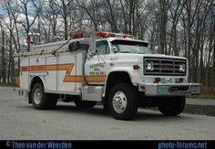 colorado fire truck photos | Ridgeway Volunteer Fire co. GMC Heavy Rescue - Fire Truck Photos