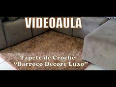 "Tapete de Crochê para Sala - Barroco Decore Luxo ""Diandra Schmidt Rosa"" - YouTube"