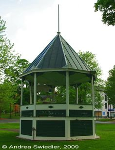 New Milford, CT, Town Green; Spent the first 17 years of my life here!
