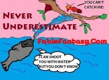 Summer Ant Story, Fish Tale Fable and the other short fable stories at FableFantasy.com