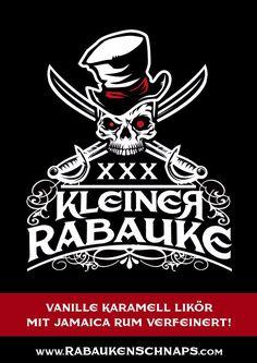 Kleiner Rabauke   Vanille   Karamell   Jamaica Rum #rum #likör #spaß #party #schnaps #süß #2017