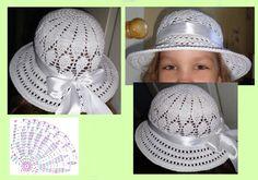 Вязание шляпки Crochet Birds, Crochet Kids Hats, Crochet Lace, Purple Wreath, Baby Sneakers, Beret, Mittens, Crochet Patterns, Baseball Hats