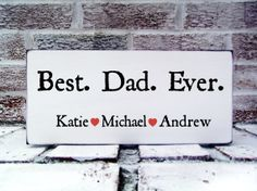 Best Dad Ever Father's Day Gift, Customized with kids names - daddy gift Poppop Grandpa Stepdad gift Papa Poppy
