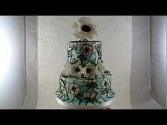 Stained Glass Effect Cake Tutorial - CakeCentral.com