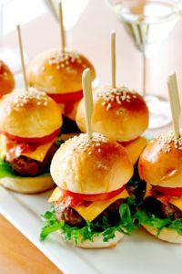 Finger Food Hambúrguer