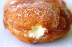 Gluten-Free Vanilla Cream Doughnuts, Maninis Gluten free.  Just like Blogger Monica wrote, I'm not looking for the heavy cake doughnut.  She writes that this recipe produces a light dough with a thin crispy crust... the kind I've been craving for like three months.  When it's time to really celebrate, this will be my next recipe to try! :)