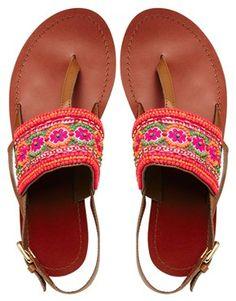 ASOS FUNHOUSE Flat Sandals