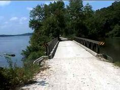 The I and M Canal Bike Trail, Illinois - Descriptions and Photos