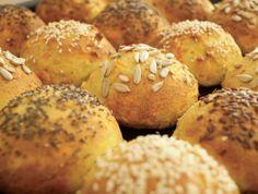 Gullerodsboller - Low carb og glutenfri