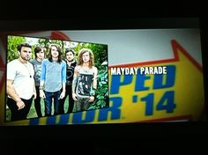 IM FLIPPING DYING RIGHT NOW GUYS!!!!!!!!!!!!!!!!!!!:'DD :'DD MAYDAY PARADE IS GOING ON WARPED TOUR 2014!!!!!!!!!!!!!:'DD :'DD