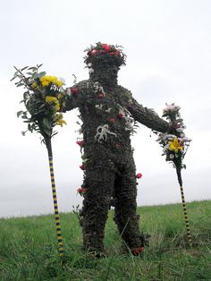 the burry man by Hazel Terry, via Flickr
